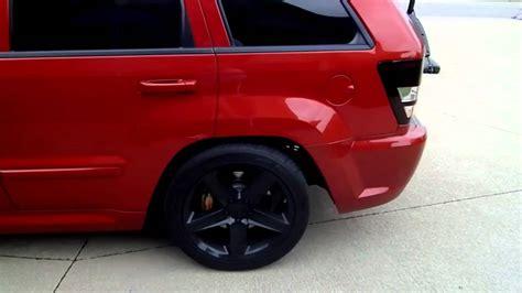 jeep grand cherokee srt clone ss  dual exhaust kn