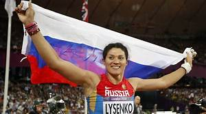 Russian Hammer Thrower Tatyana Lysenko Loses Gold Medal After Using Steroids
