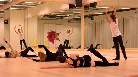 floor barre class  paola ghidini chasse dance studios amsterdam youtube