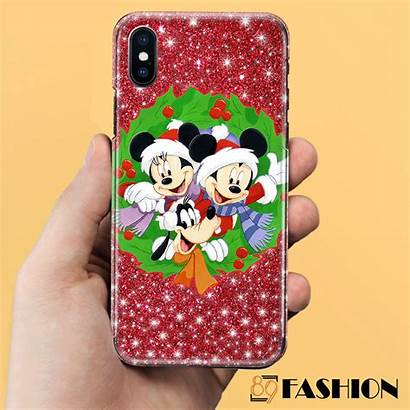Case Phone Iphone Led Christmas Mouse 3d