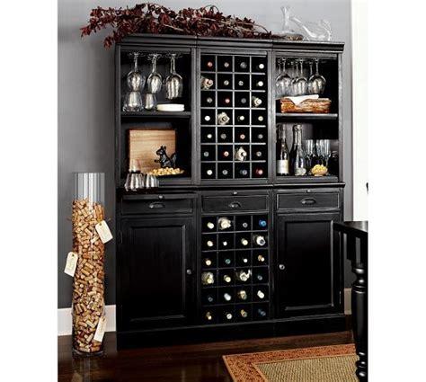 modular bar system   wine hutch  open hutch