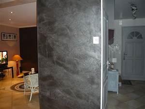 Mur A La Chaux : enduit la chaux sur mur de salle manger ~ Premium-room.com Idées de Décoration
