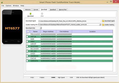smartphone flash tool sp flash tool all versions windows linux