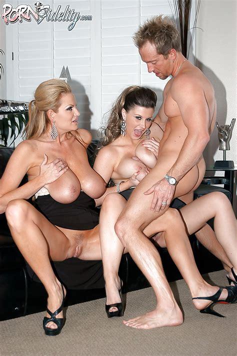 Lingerie Model Sara Stone Has Her Milf Big Tits Teased In