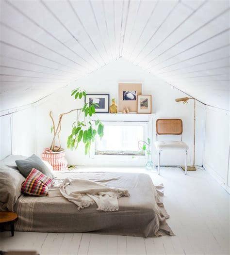 chambre sous pente 1001 idées déco de chambre sous pente cocoon