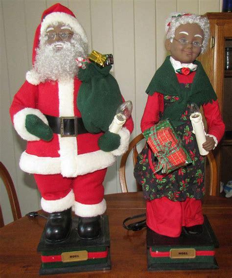 holiday creations motion animated santa  claus black