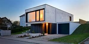Einfamilienhaus aus Infraleichtbeton Modern Häuser München von KPT Architekten