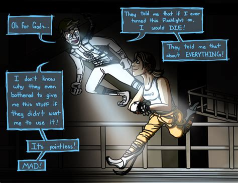 Portal 2 Android Wheatley And Chell By Zubious On Deviantart