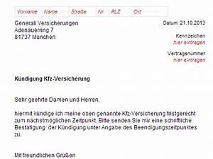Kündigung Vorlage Kostenlos : generali kfz versicherung k ndigung vorlage download chip ~ Frokenaadalensverden.com Haus und Dekorationen