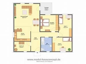 Bungalow Grundrisse 4 Zimmer : modul hausconcept bungalows ~ Eleganceandgraceweddings.com Haus und Dekorationen