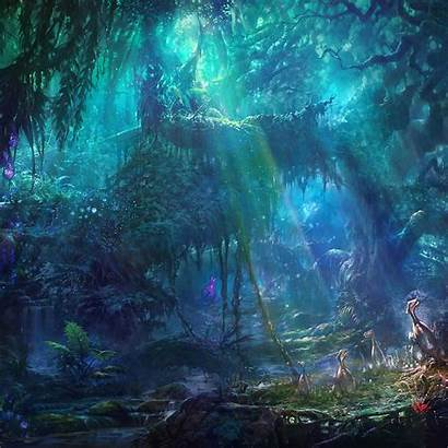 Forest Abyss Wallpapers Ipad Chrono Fantasy Background