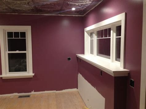 sherwin williams plum dandy kitchen ideas