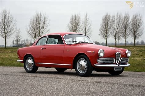 Alfa Romeo Giulietta For Sale by Classic 1958 Alfa Romeo Giulietta Sprint Veloce For Sale