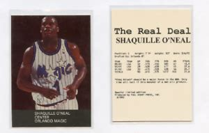 1992-93 FULL COURT PRESS THE REAL DEAL SHAQUILLE O'NEAL ...