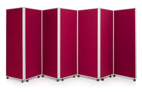Mobile Concertina Folding Partitions Panel. The Mobile