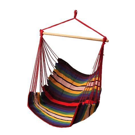 Hanging Hammock Swing Chair by Garden Patio Hanging Thicken Hammock Chair Indoor Outdoor