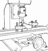 Lathe Template Coloring sketch template
