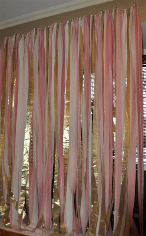 blush pink  gold hand dyed fabric backdrop  ceremony ft  ft wedding party decor