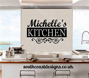 Decorative Kitchen Wall Art With Name