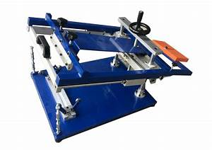 Manual Curved Surface Screen Printing Machine For Sale