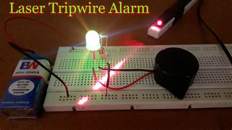How Make Laser Security Alarm System Home