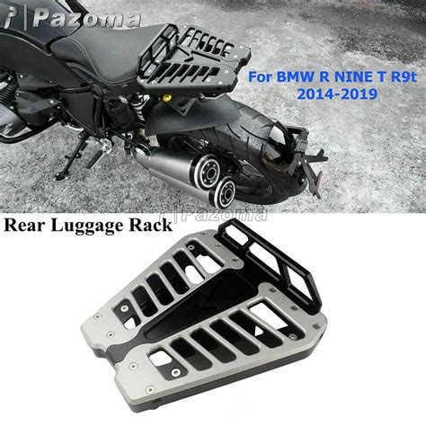 motorcycle top case support bracket luggage rack  bmw