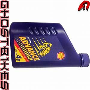 Huile Moteur Moto : huile moteur moto shell advance sx 4 temps 10w 40 1l ebay ~ Melissatoandfro.com Idées de Décoration
