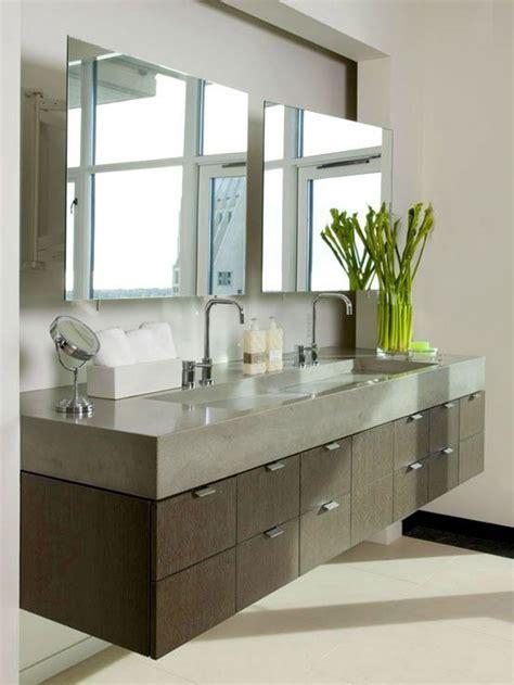 bathroom mirror ideas bathroom the modern bathroom vanity floating modern