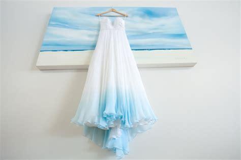 Dip Dye & Ombre Wedding Dresses