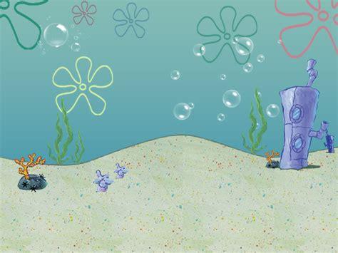 Spongebob Flower Background