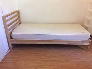 Welches Bett Passt Zu Mir : ikea bett modell tarva in bonn betten kaufen und verkaufen ber private kleinanzeigen ~ Markanthonyermac.com Haus und Dekorationen