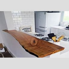 9 Ways To Decorate Your House With Raw And Liveedge Wood