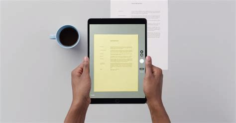 How To Use Apple's Terrific Document Scanner In Ios 11 Business Letterhead Software Free Download Letter Via Certified Mail Format Letters Meaning And Importance Drafting Card Design John Doe Wave Template Images
