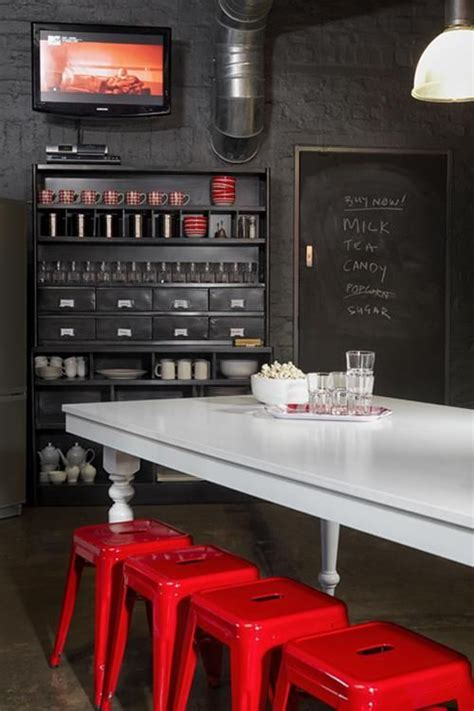cuisine retro chic cuisine et noir style rétro chic