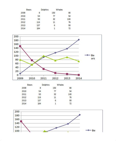 excel graph templates excel graphs template 4 free excel documents free premium templates