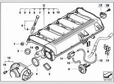 Original Parts for E65 730d M57N Sedan Engine Intake