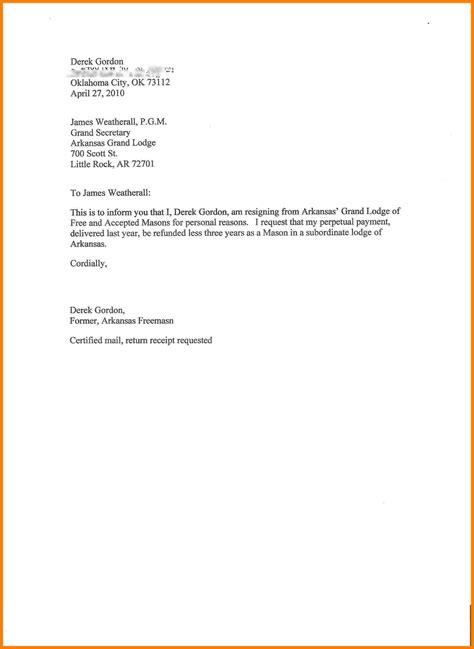 resign letter  hours notice letter flat