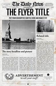 Adobe Indesign Newspaper Templates Free 12 Best Old Fashioned Newspaper Template Images On