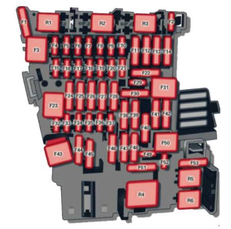 How To Open Audi Fuse Box by Audi A3 8v 2012 To 2018 Fuses Box Location And Fuse List
