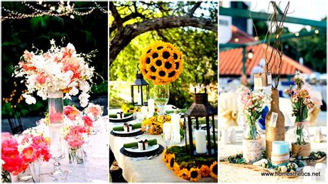 Wedding Ideas For Summer : 19 Splendid Summer Wedding Centerpiece Ideas That Will