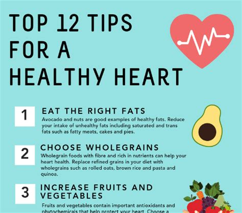 Top 12 tips for a healthy heart - North Richmond Community ...