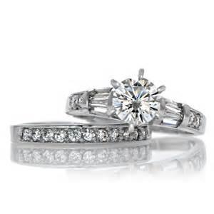 cubic zirconia wedding ring sets raj 39 s cubic zirconia wedding ring set