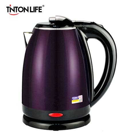 kettle water electric pot heating stainless steel liner tinton 0l auto power capacity kettles split appliances 220v quick 1500w hotpot
