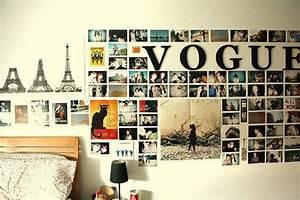Bilder An Der Wand : fotocollage an der wand wie befestigen haus dekoration ~ Lizthompson.info Haus und Dekorationen
