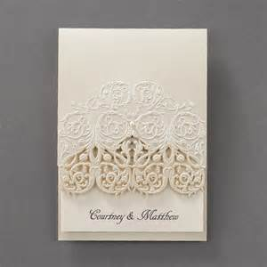 lace wedding invitations lace wedding invitations flamingo