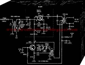 Mosfet Mixer Oscillator For Am Receivers Circuit Diagram