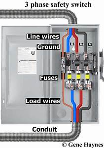 3 Phase Disconnect Switch Wiring Diagram