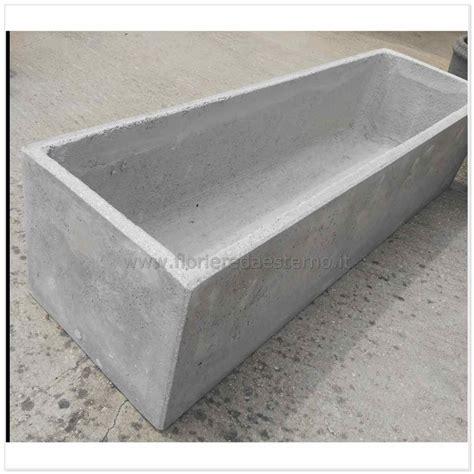 Vasi In Cemento by Fioriere In Cemento Cm60 A Forma Rettangolare