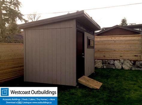 contemporary prefab garden shed westcoast