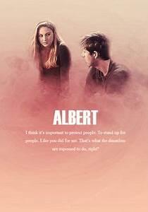 { I'm not Abnegation. I'm not Dauntless. I'm DIVERGENT ...